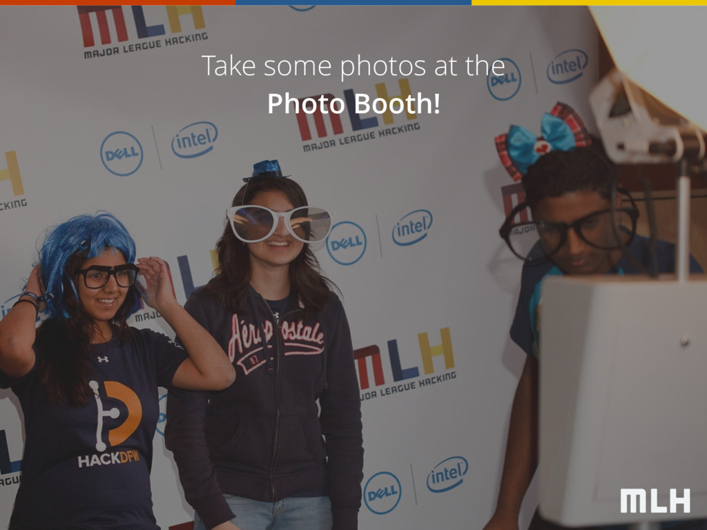 Take some photos at the Photo Booth!