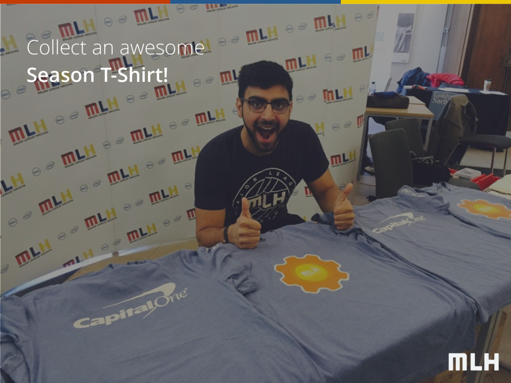 Collect an awesome Season T-Shirt!