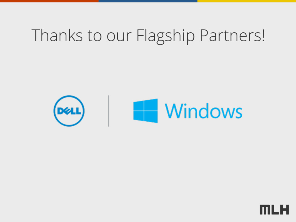 Thanks to our Flagship Partners!