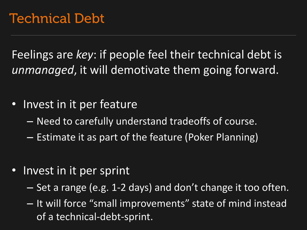 Feelings are key: if people feel their technica...