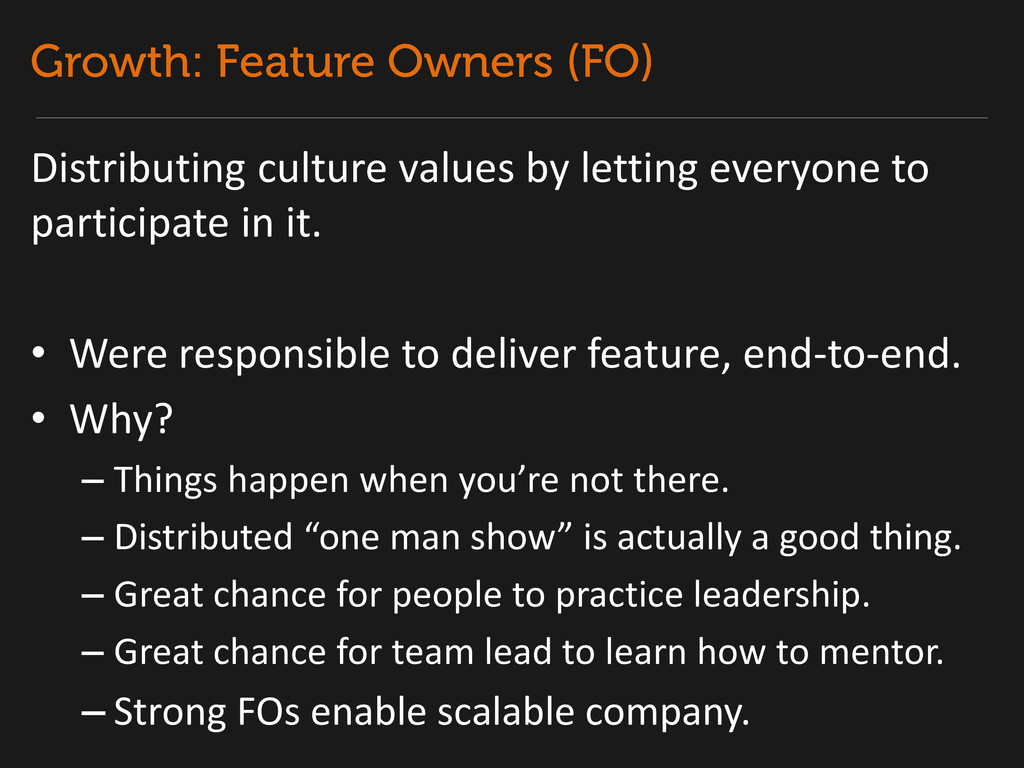 Distributing culture values by letting everyone...