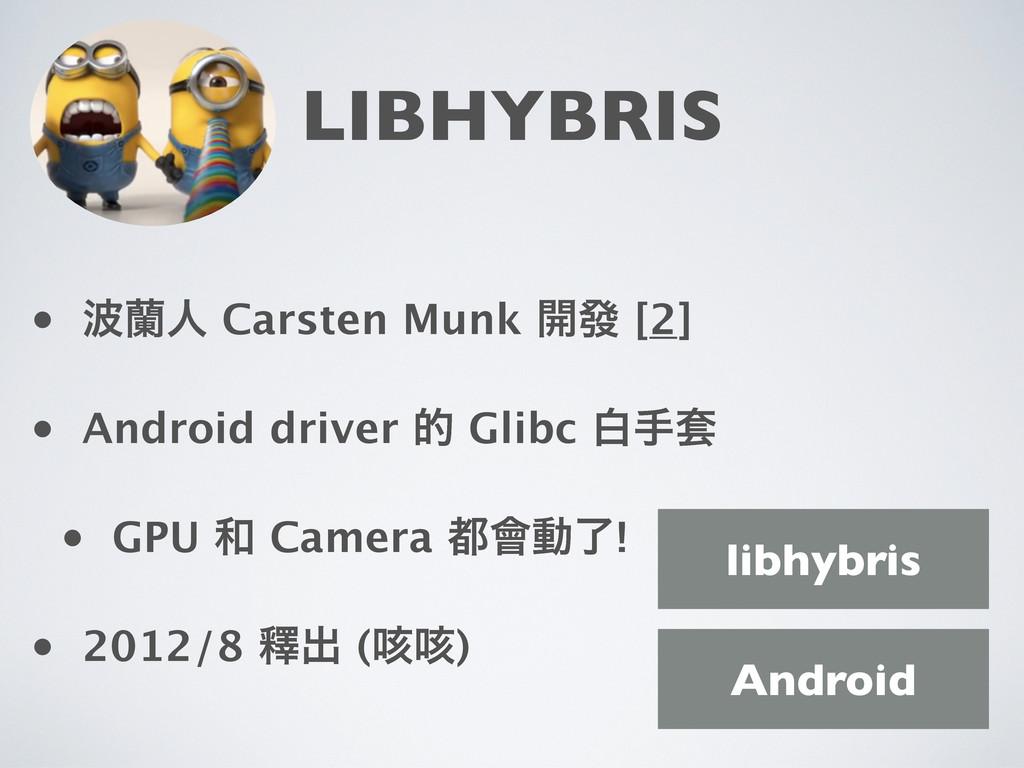 LIBHYBRIS • འਓ Carsten Munk ։ᚙ [2] • Android d...
