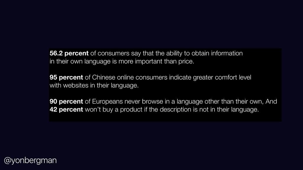 @yonbergman 56.2 percent of consumers say that ...