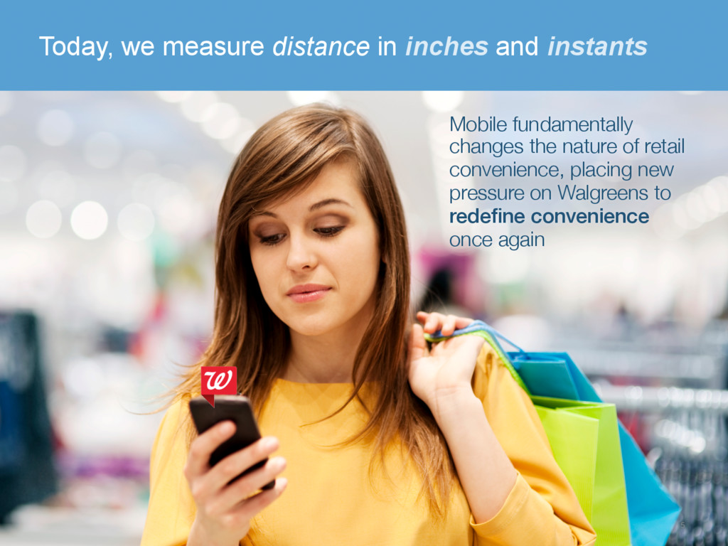 Today, we measure distance in inches and instan...