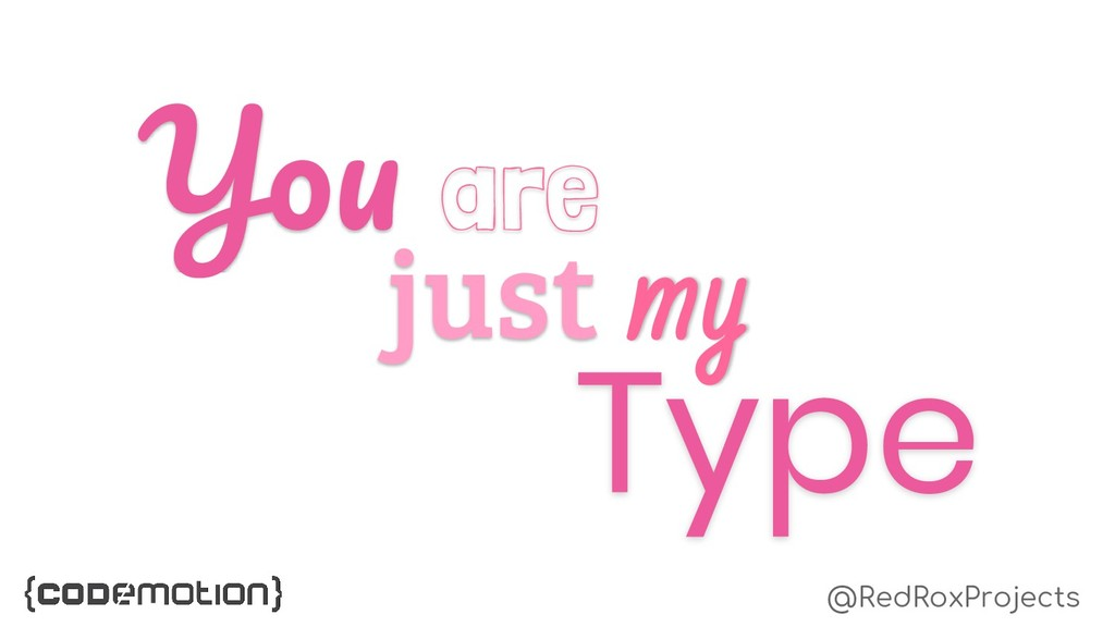 Type just my Y are @RedRoxProjects