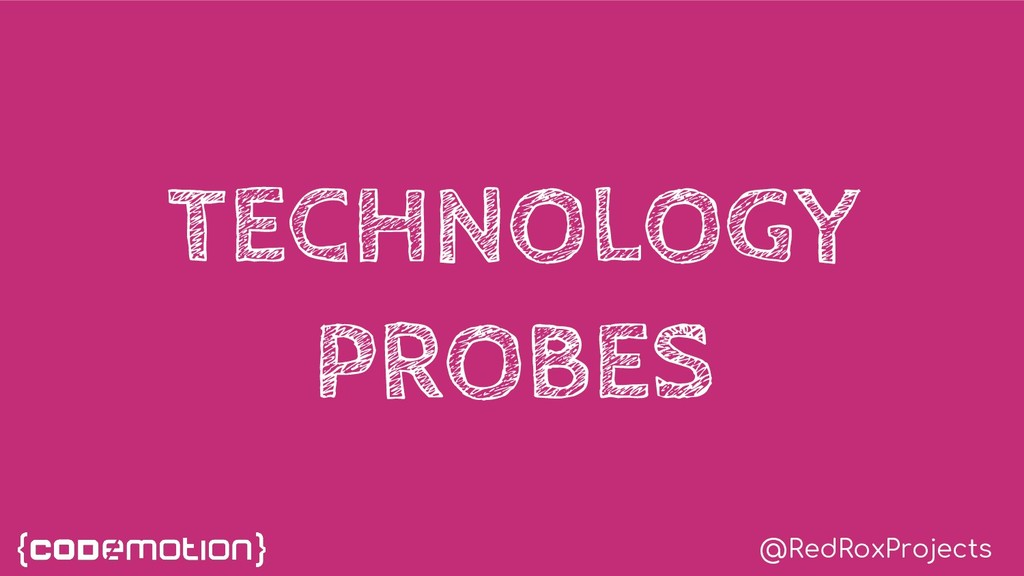 @RedRoxProjects TECHNOLOGY PROBES