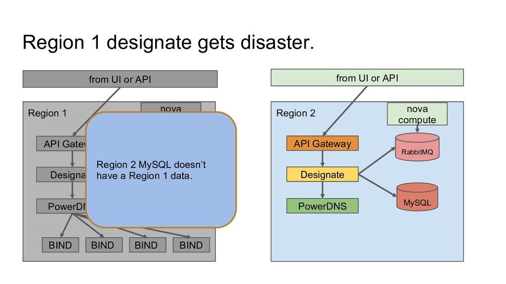 Region 1 designate gets disaster. from UI or AP...