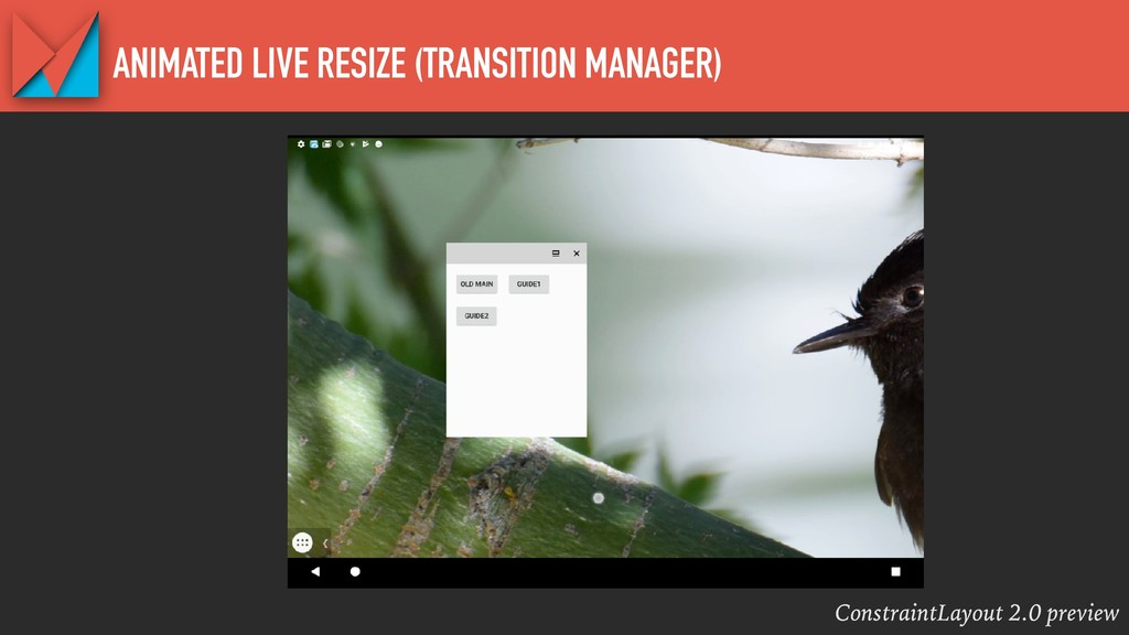 ConstraintLayout 2.0 preview ANIMATED LIVE RESI...
