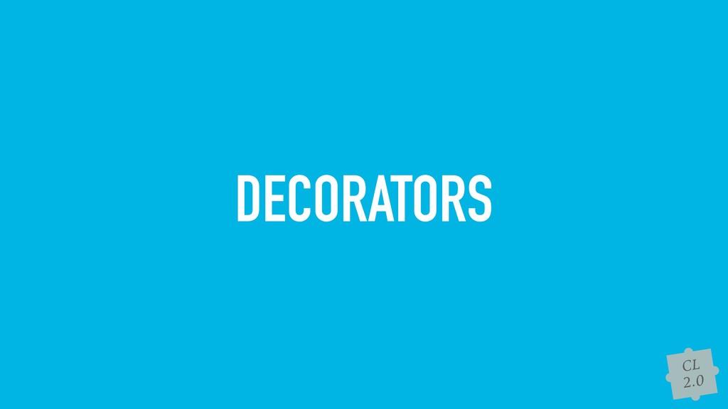 CL 2.0 DECORATORS