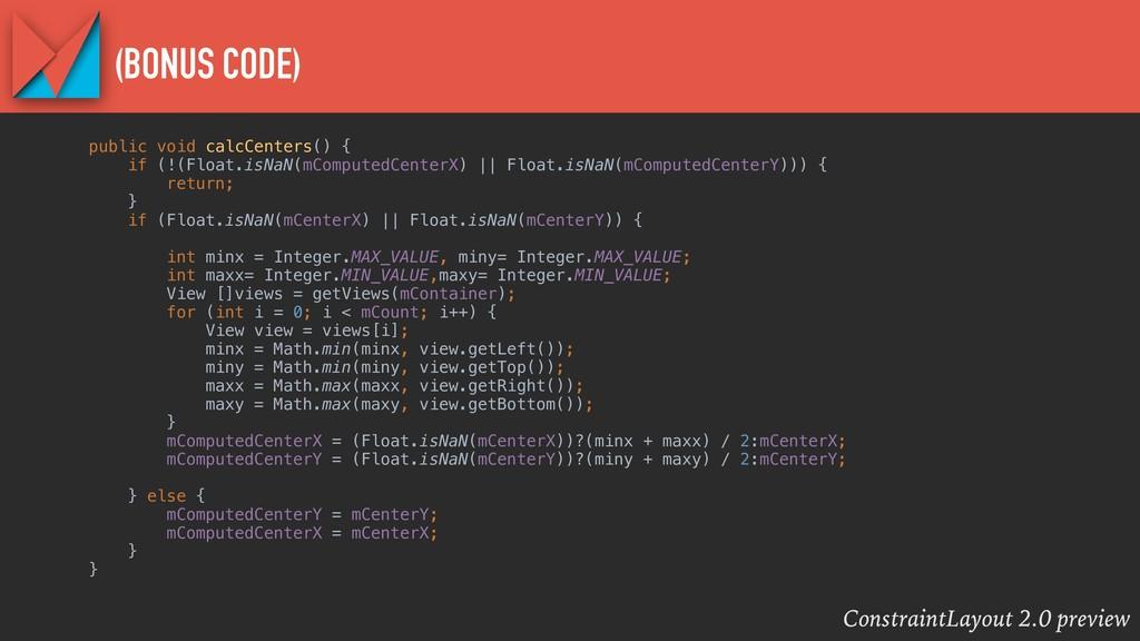 ConstraintLayout 2.0 preview (BONUS CODE) publi...