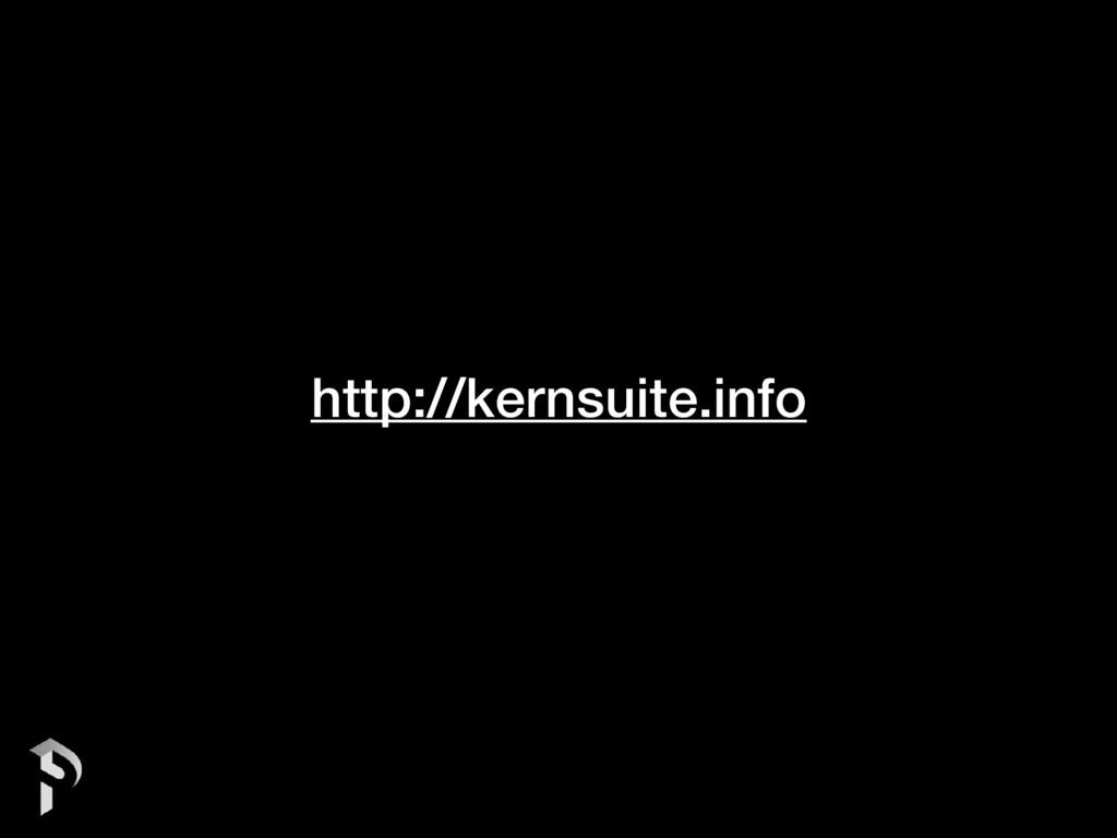 http://kernsuite.info