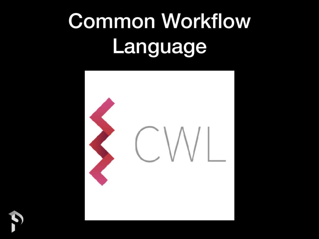 Common Workflow Language