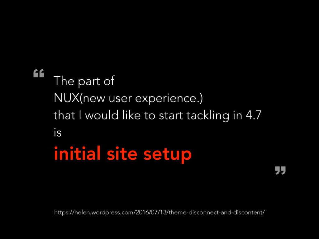 l z The part of NUX(new user experience.) that ...