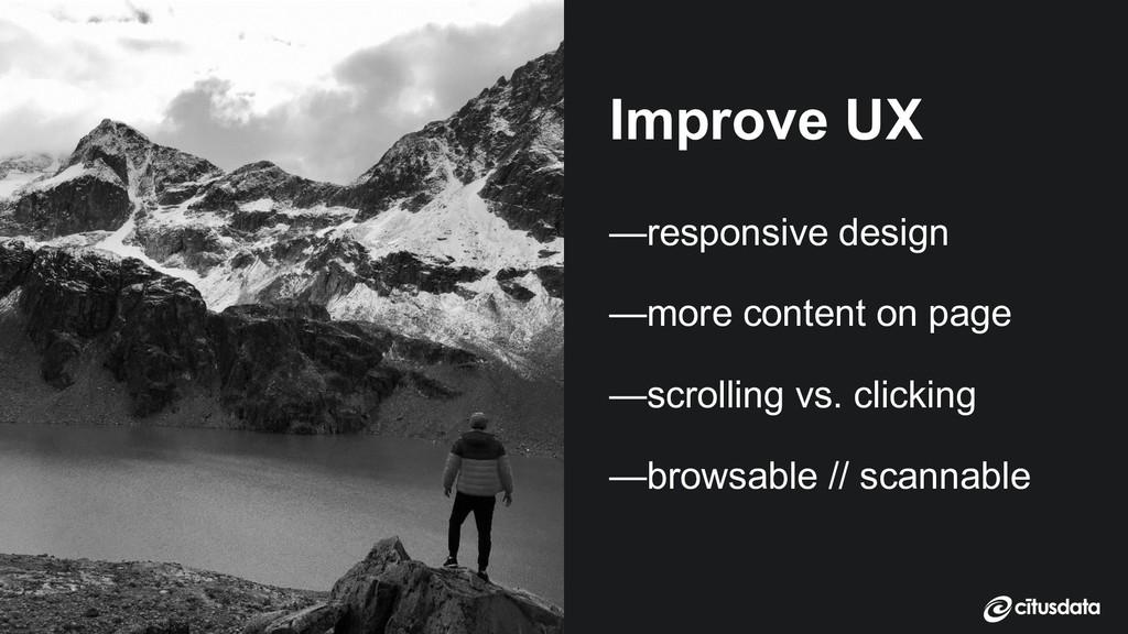 Claire Giordano | DevXcon 2018 Improve UX —resp...
