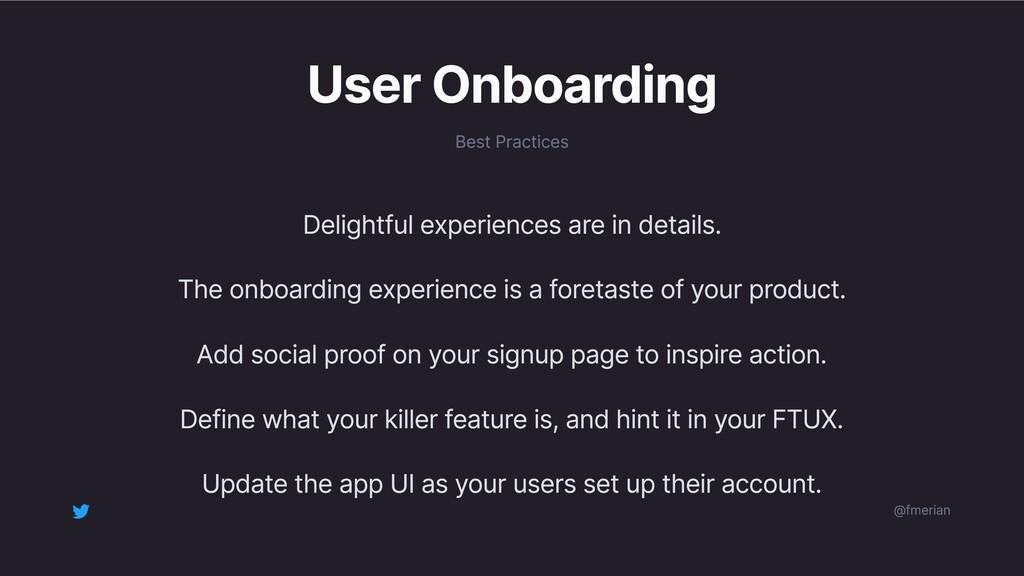 User Onboarding Best Practices Delightful exper...