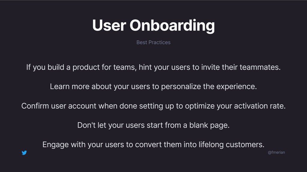 User Onboarding Best Practices If you build a p...