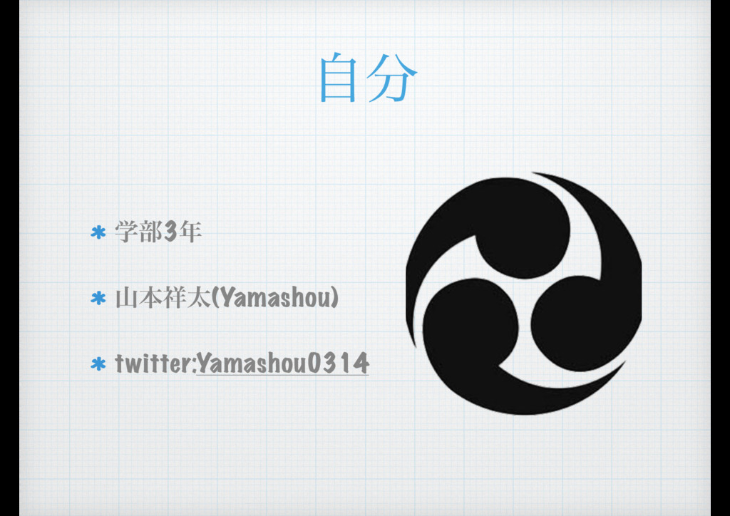 ࣗ ֶ෦3 ຊଠ(Yamashou) twitter:Yamashou0314
