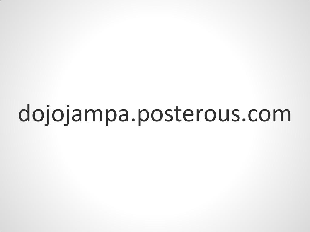 dojojampa.posterous.com
