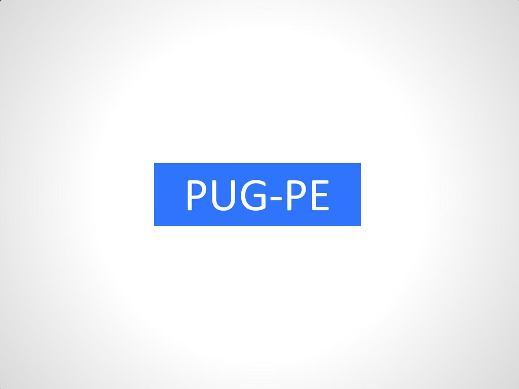 PUG-PE