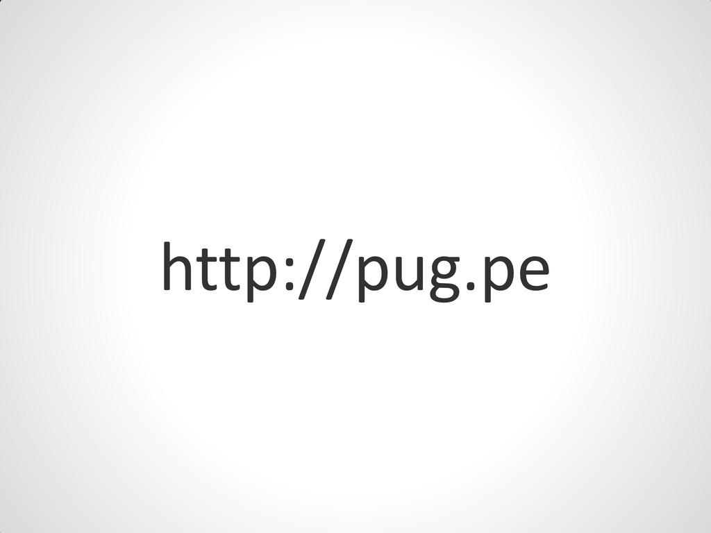 http://pug.pe
