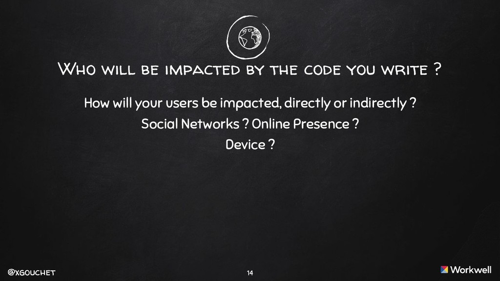 @xgouchet @xgouchet Who will be impacted by the...