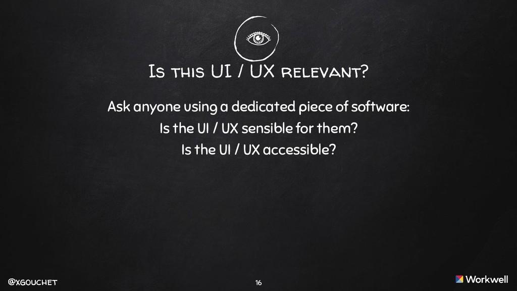 @xgouchet @xgouchet Is this UI / UX relevant? A...