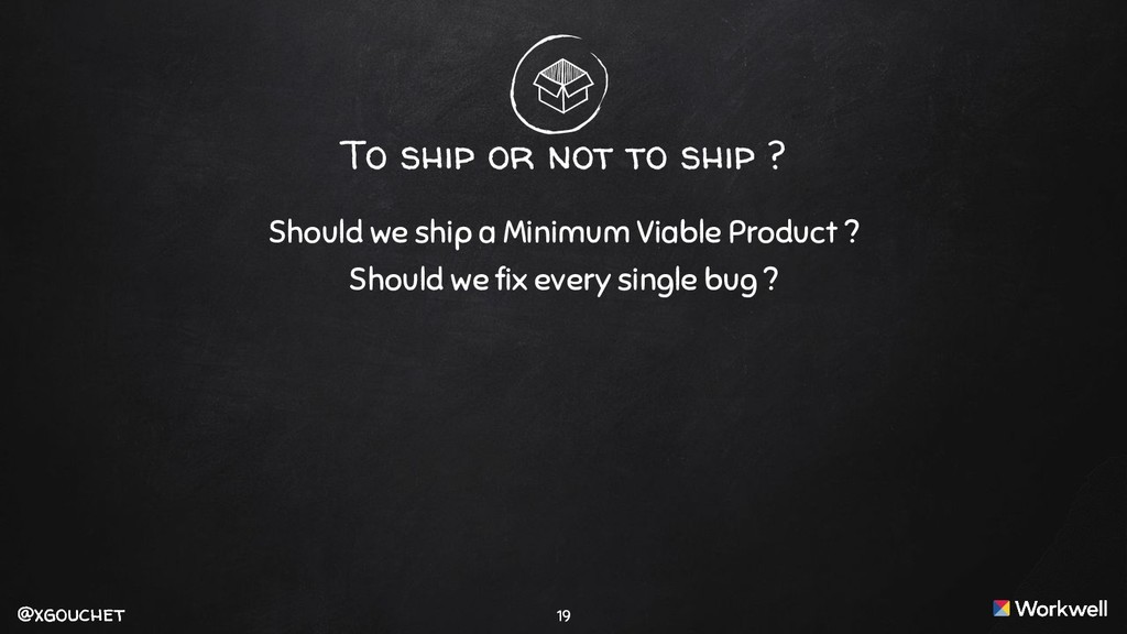 @xgouchet @xgouchet Should we ship a Minimum Vi...