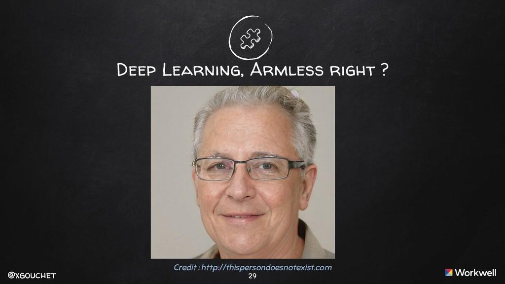 @xgouchet @xgouchet 29 Deep Learning, Armless r...