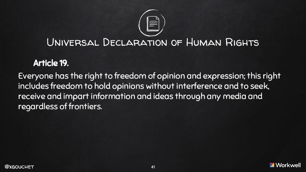 @xgouchet @xgouchet Universal Declaration of Hu...