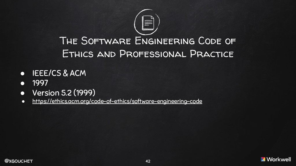 @xgouchet @xgouchet The Software Engineering Co...
