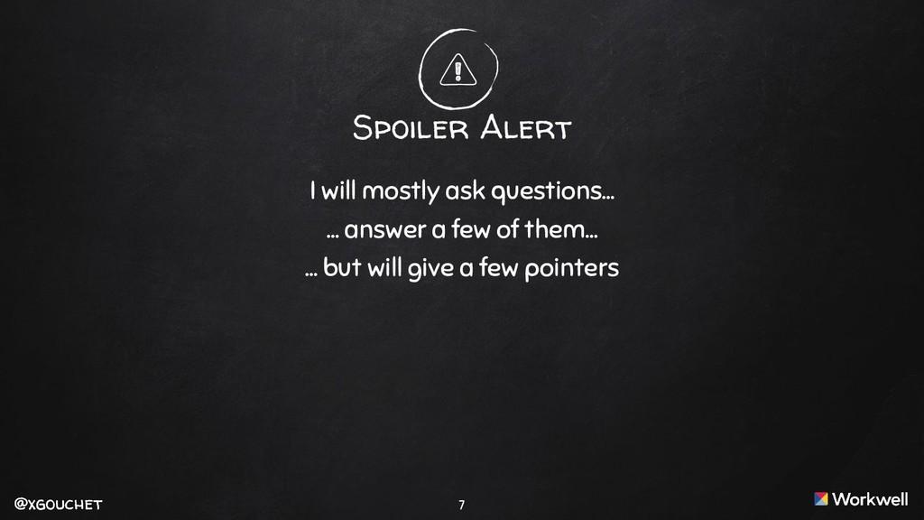 @xgouchet @xgouchet 7 Spoiler Alert I will most...