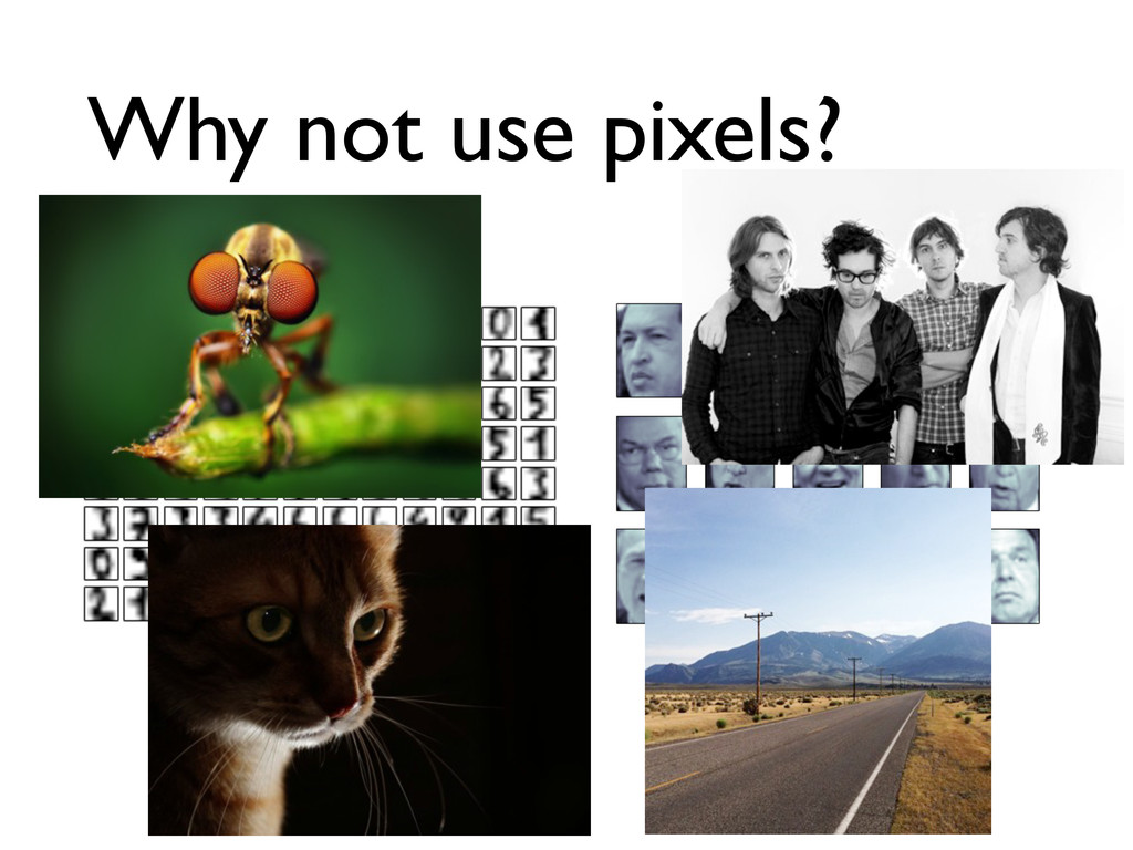 Why not use pixels?