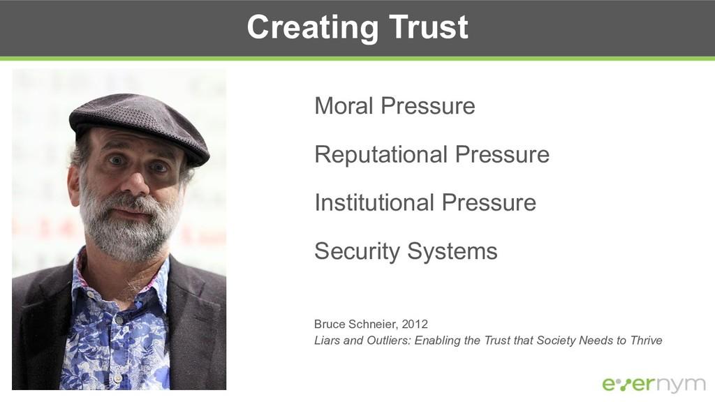 Creating Trust Moral Pressure Reputational Pres...