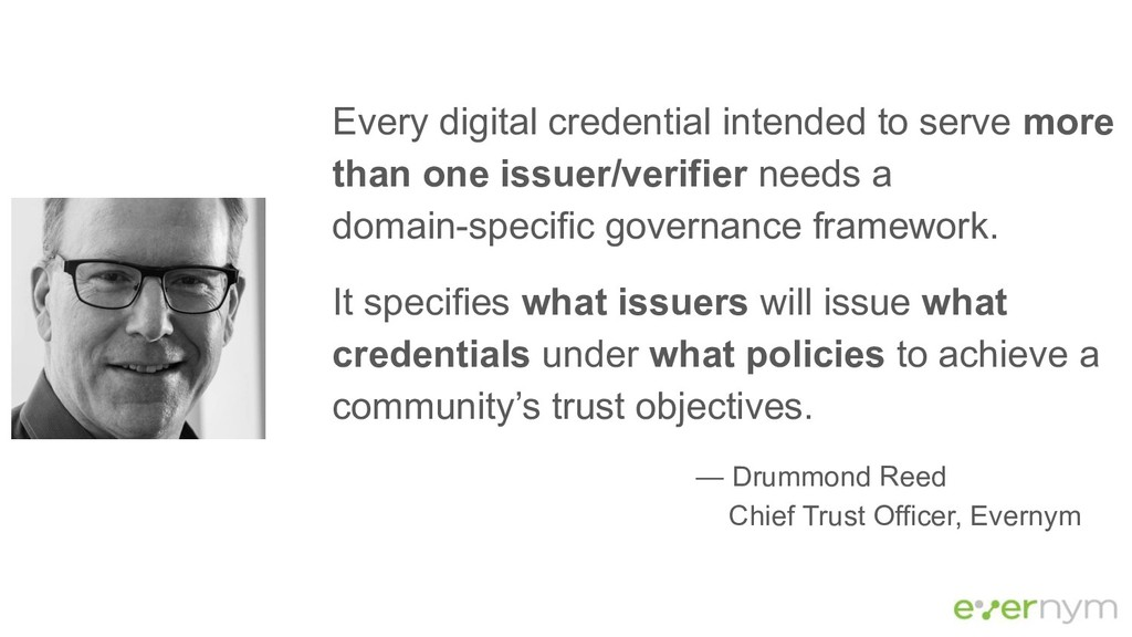 Every digital credential intended to serve more...