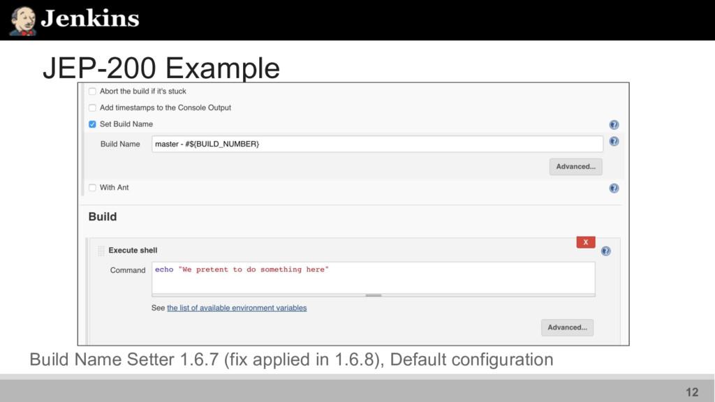 JEP-200 Example Build Name Setter 1.6.7 (fix ap...