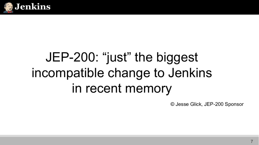 """JEP-200: """"just"""" the biggest incompatible change..."""