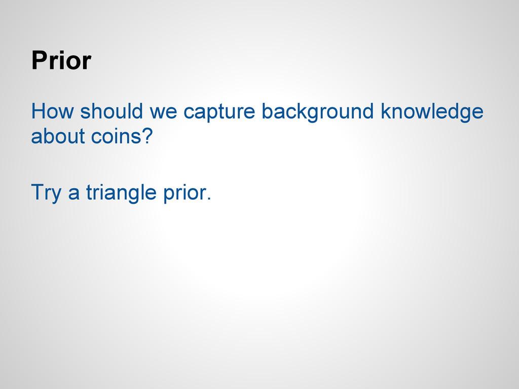 Prior How should we capture background knowledg...