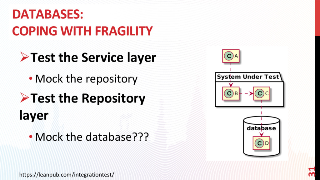 DATABASES: COPING WITH FRAGILITY h0ps://leanpub...