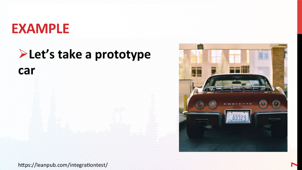 EXAMPLE ØLet's take a prototype car h0ps://lea...