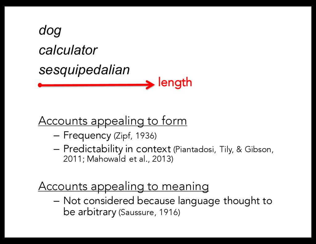 dog calculator sesquipedalian length Accounts a...