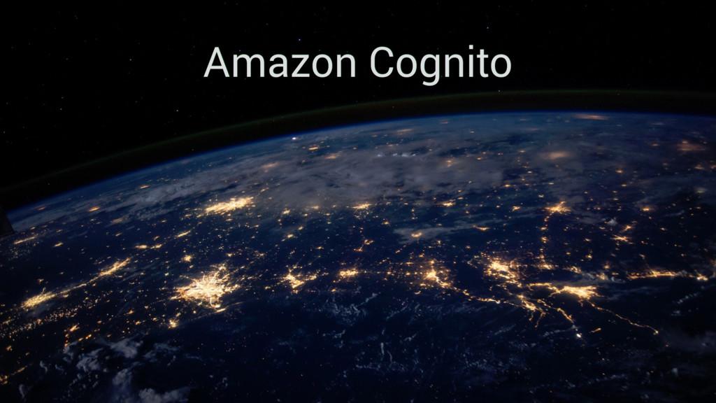 Amazon Cognito