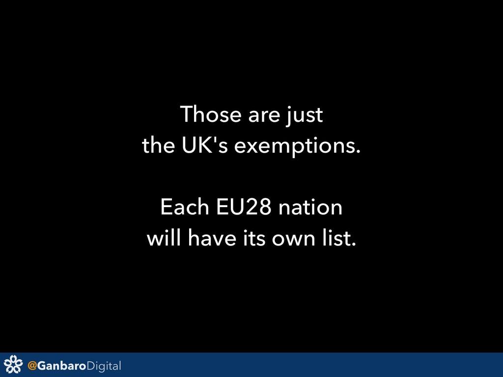 @GanbaroDigital Those are just the UK's exempti...