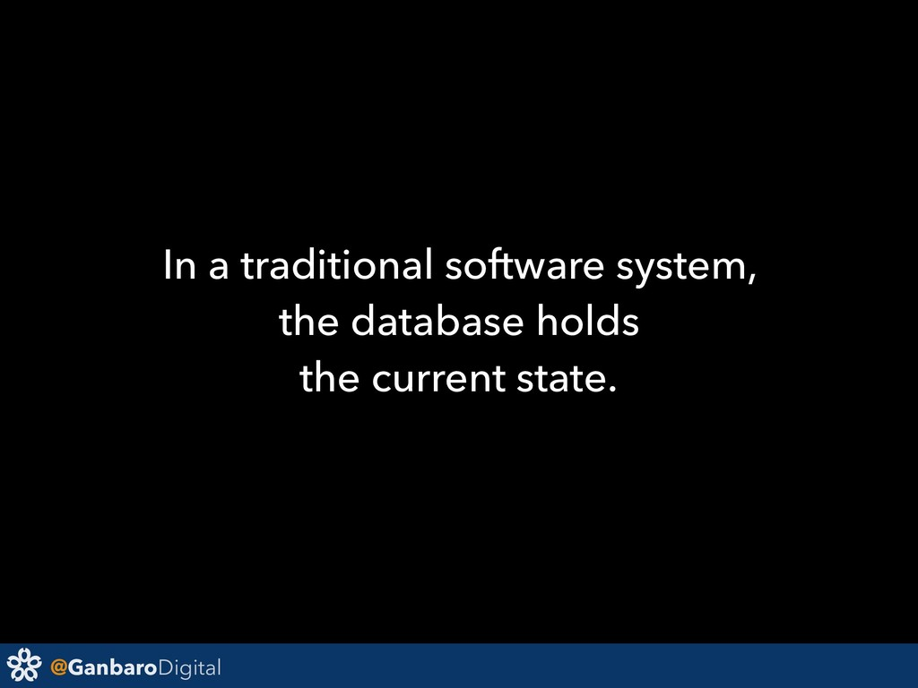 @GanbaroDigital In a traditional software syste...