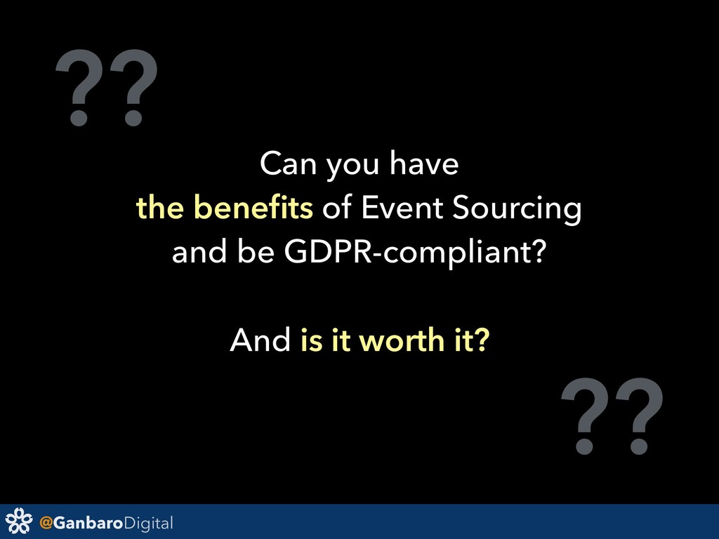 @GanbaroDigital ?? ?? Can you have the benefits ...