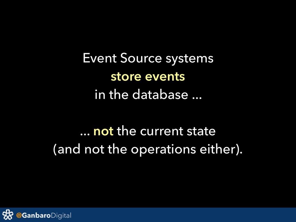@GanbaroDigital Event Source systems store even...