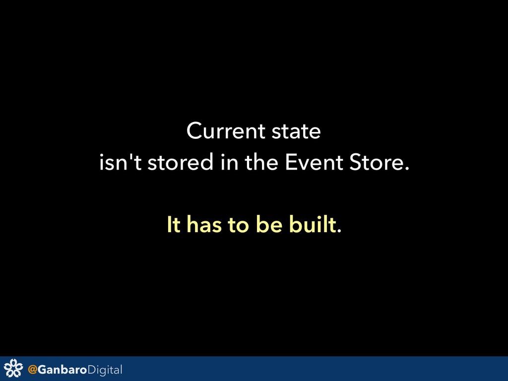 @GanbaroDigital Current state isn't stored in t...