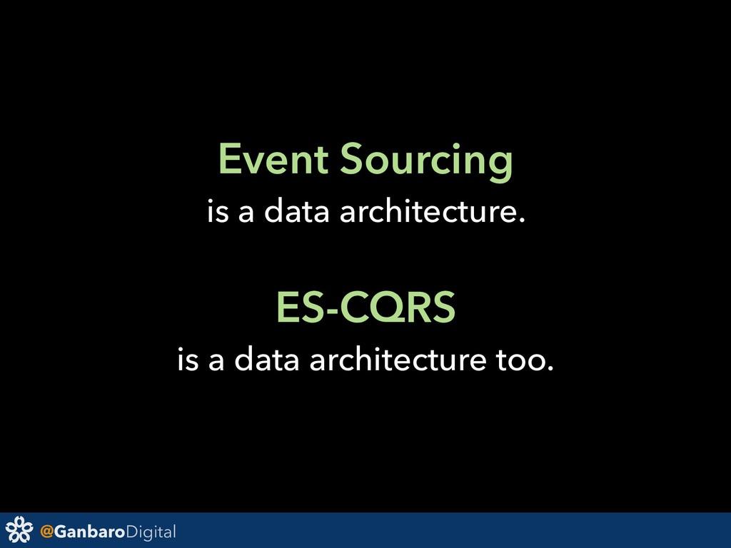 @GanbaroDigital Event Sourcing is a data archit...