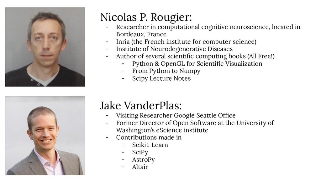 Nicolas P. Rougier: - Researcher in computation...