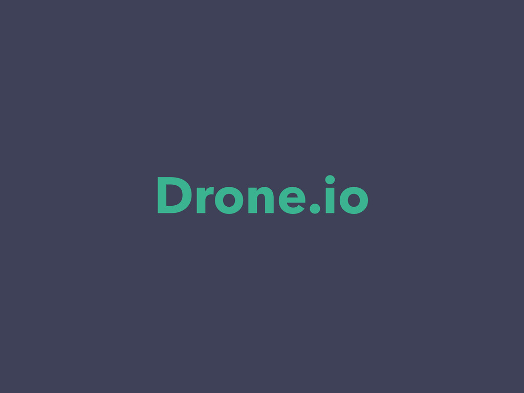 Drone.io