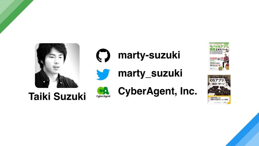 marty_suzuki CyberAgent, Inc. marty-suzuki Taik...